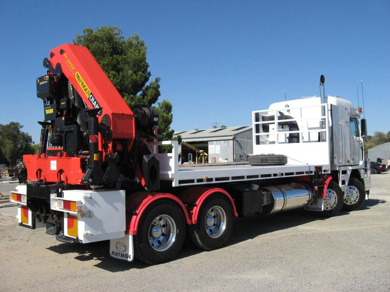 What is a HIAB crane truck and what is its best use?